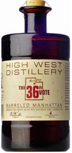 High West The 36Th Vote Barreled Manhattan 750ml